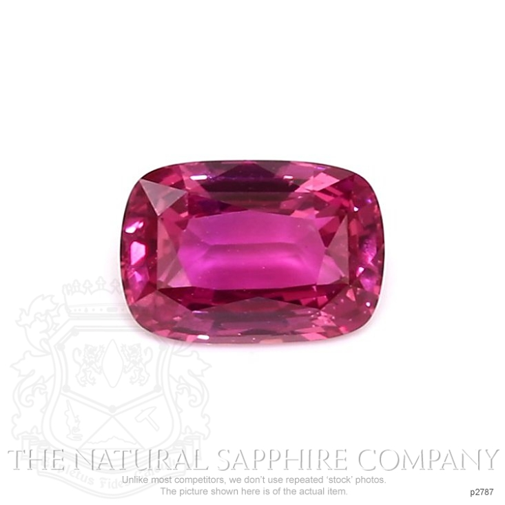 Natural Untreated Pink Sapphire P2787 Image