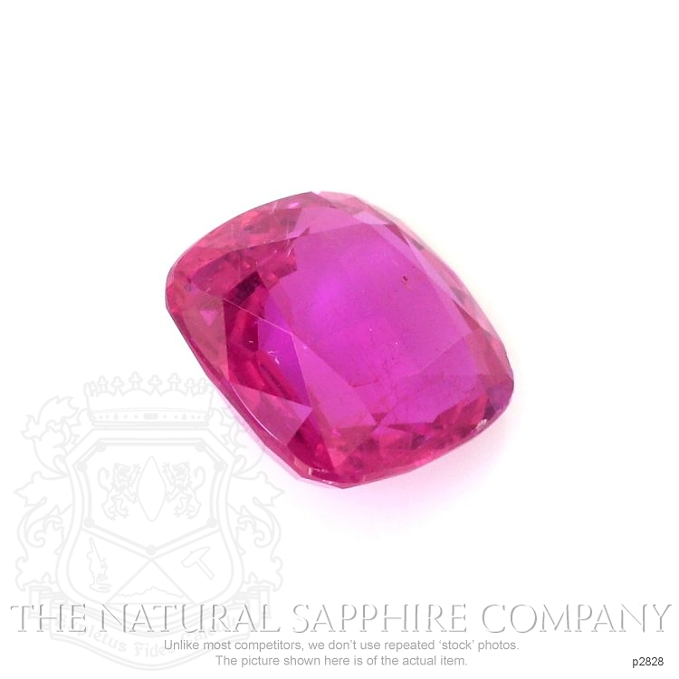 Natural Untreated Pink Sapphire P2828 Image 3
