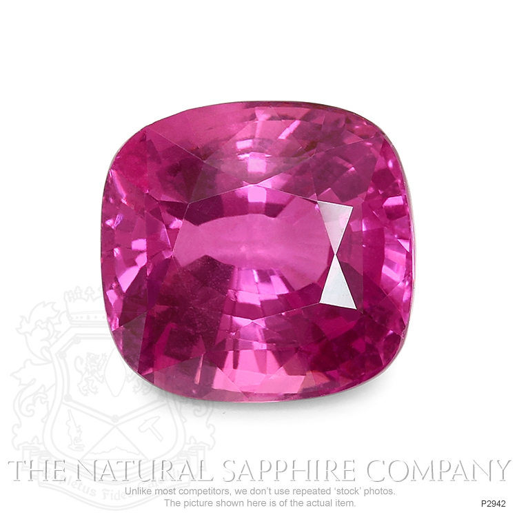Natural Pink Sapphire P2942 Image