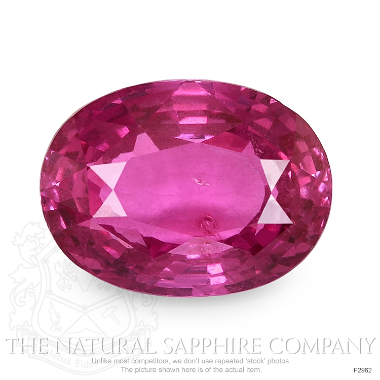 Natural Pink Sapphire P2962 Image
