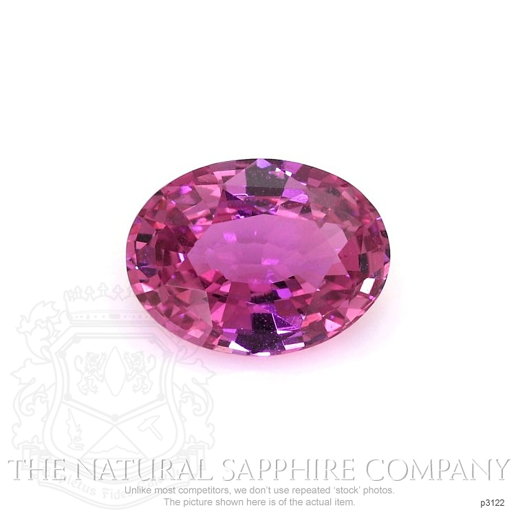 Natural Untreated Pink Sapphire P3122 Image