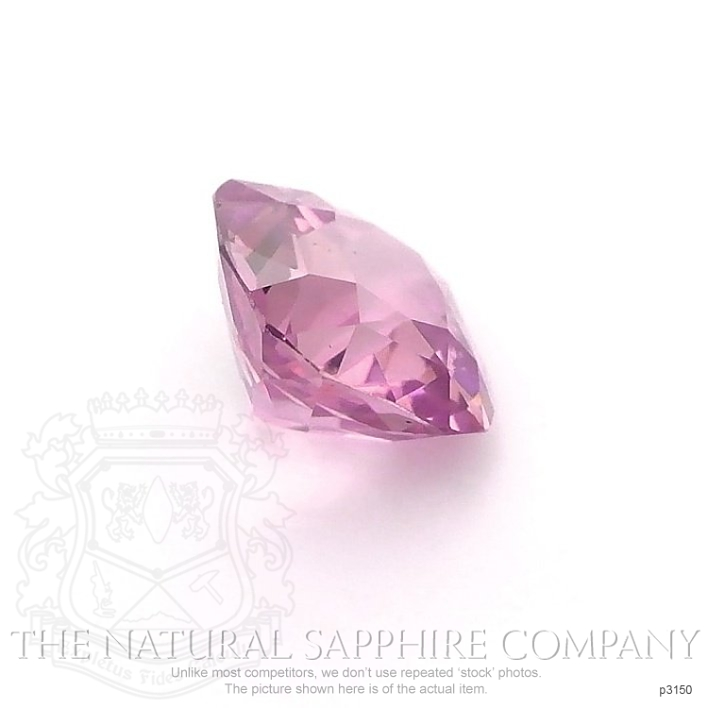Natural Pink Sapphire P3150 Image 3