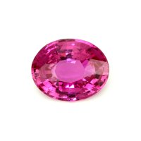 3.38ct Madagascar Oval Pink Sapphire - P3176