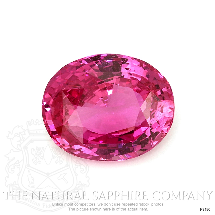 Natural Untreated Pink Sapphire P3190 Image