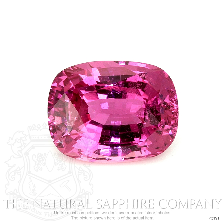 Natural Pink Sapphire P3191 Image