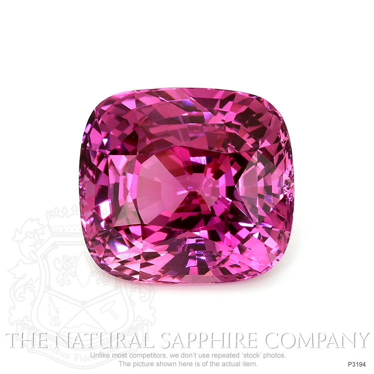 Natural Pink Sapphire P3194 Image