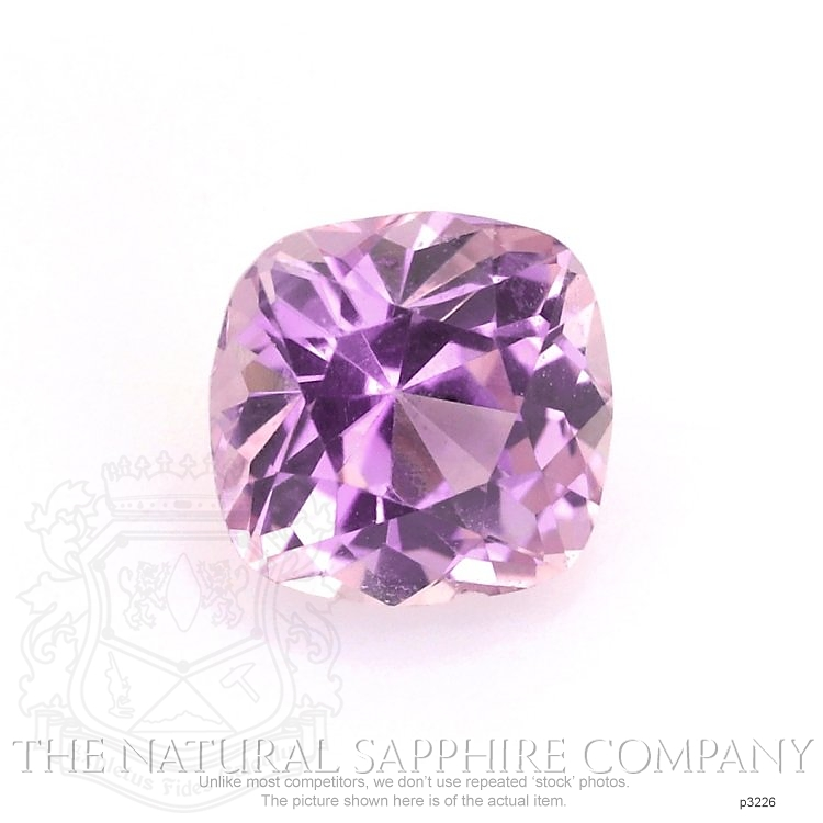 Natural Untreated Pink Sapphire P3226 Image