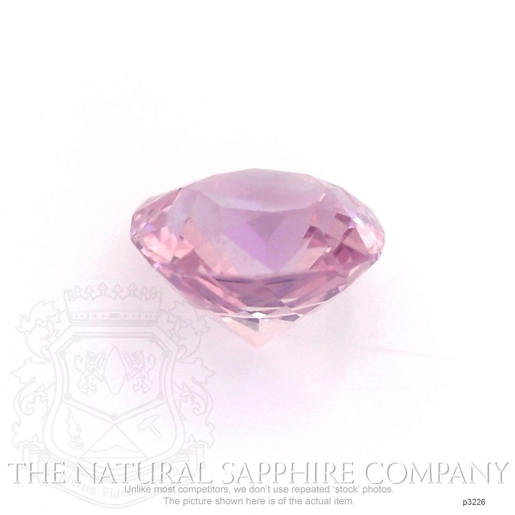 Natural Untreated Pink Sapphire P3226 Image 2