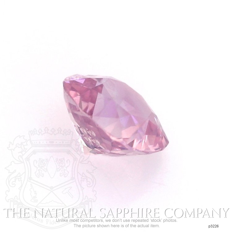 Natural Untreated Pink Sapphire P3226 Image 3