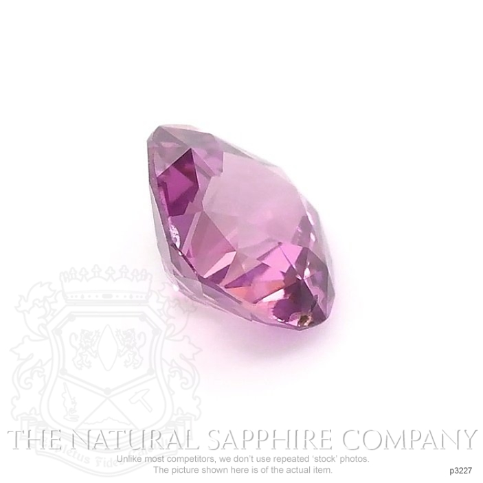 Natural Pink Sapphire P3227 Image 3