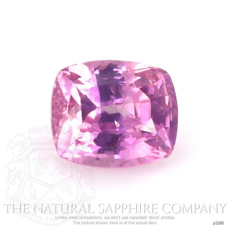 Natural Untreated Pink Sapphire P3265 Image