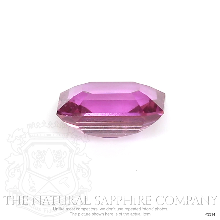 Natural Untreated Pink Sapphire P3314 Image 2