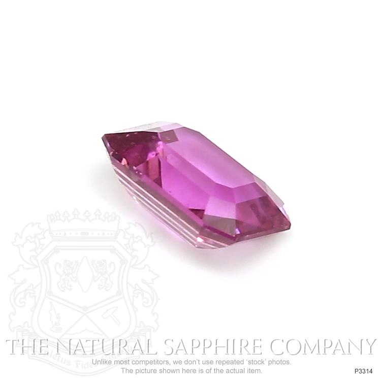 Natural Untreated Pink Sapphire P3314 Image 3