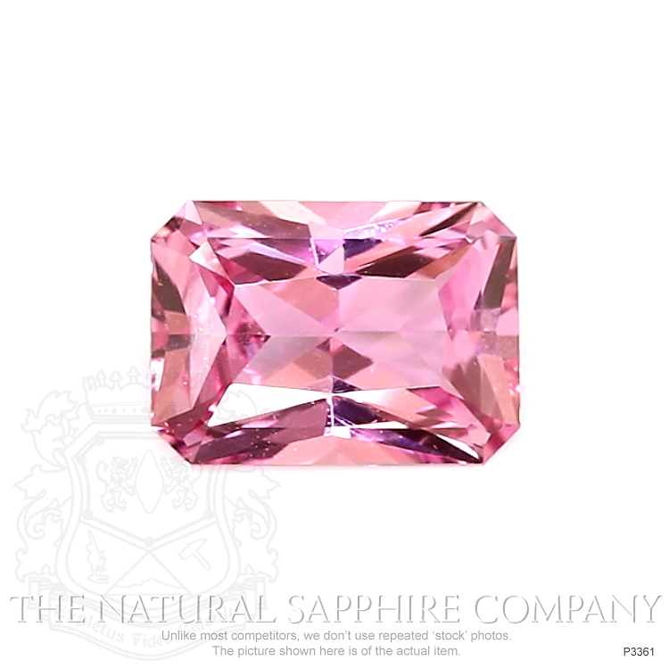 Natural Untreated Pink Sapphire P3361 Image