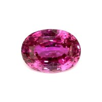 7.59ct Madagascar Oval Pink Sapphire - P3446