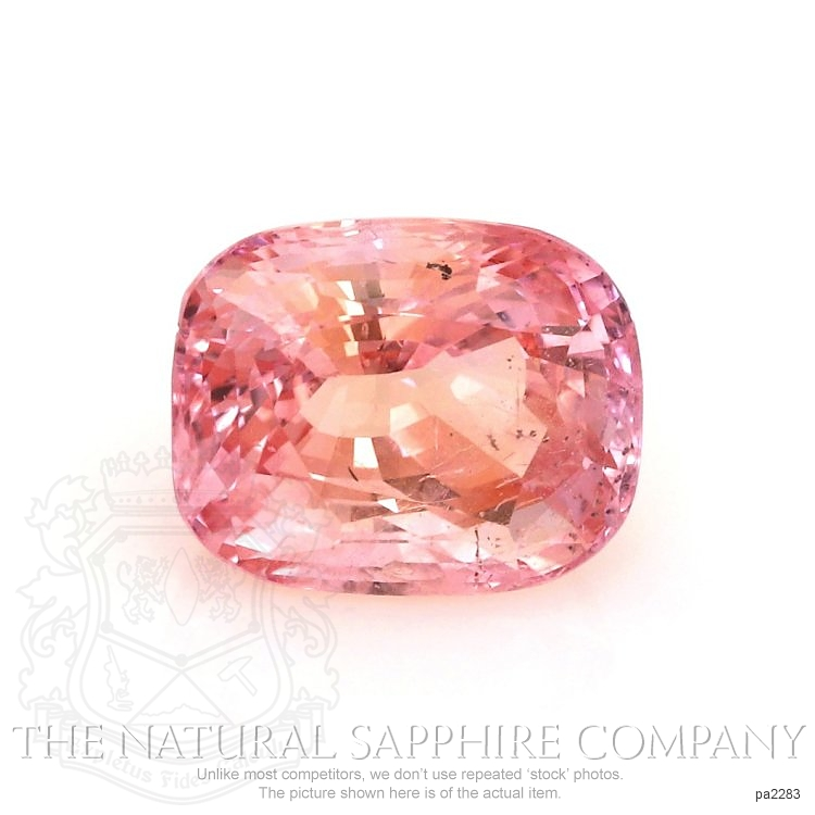 Natural Untreated Padparadscha Sapphire PA2283 Image