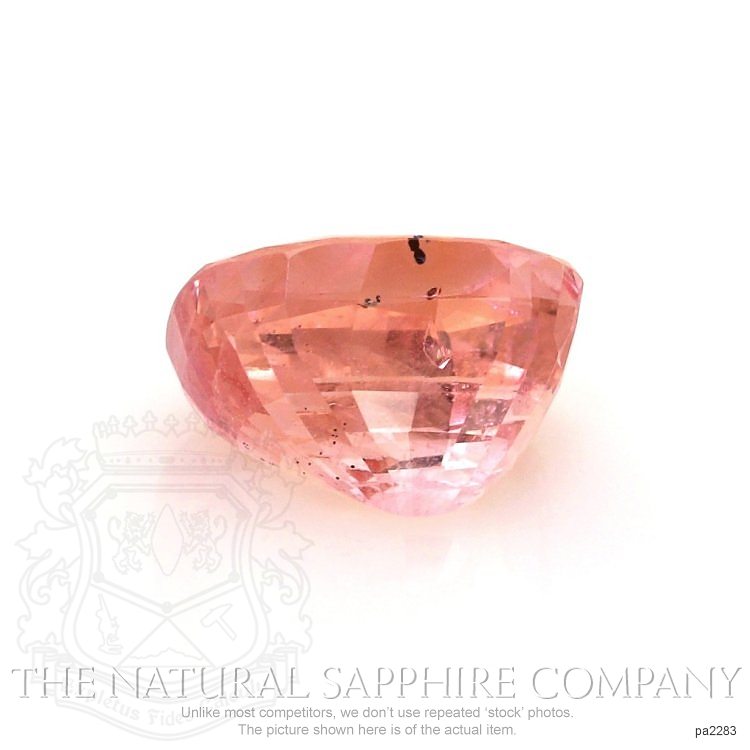 Natural Untreated Padparadscha Sapphire PA2283 Image 2