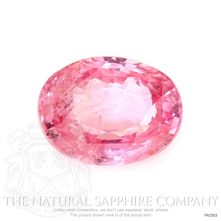 Natural Untreated Padparadscha Sapphire PA2553 Image