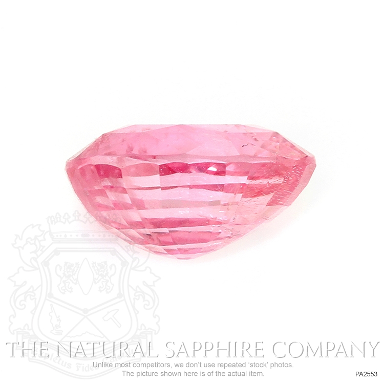 Natural Untreated Padparadscha Sapphire PA2553 Image 2