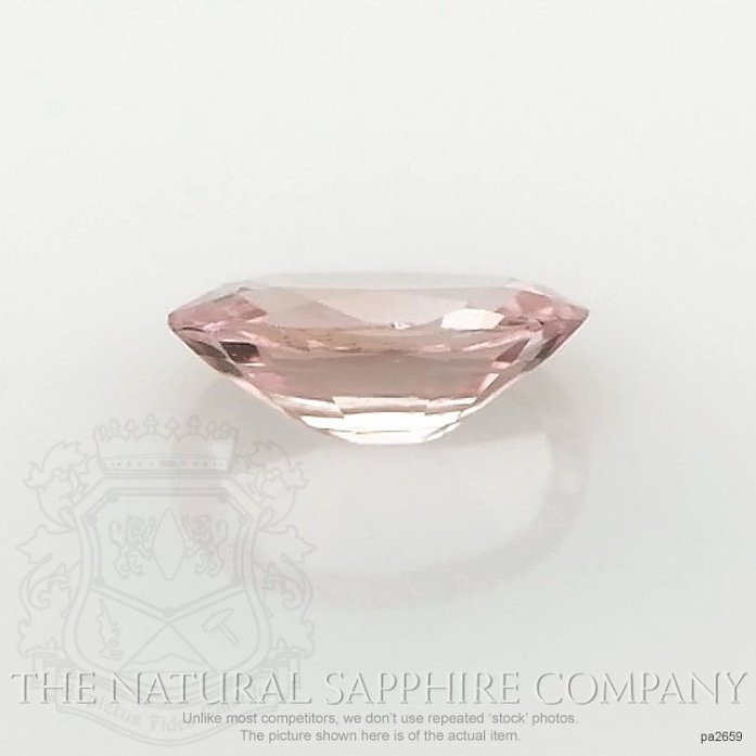 Natural Untreated Padparadscha Sapphire PA2659 Image 2