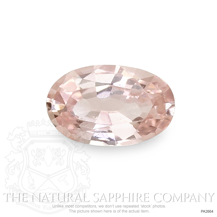 Natural Untreated Padparadscha Sapphire PA2664 Image