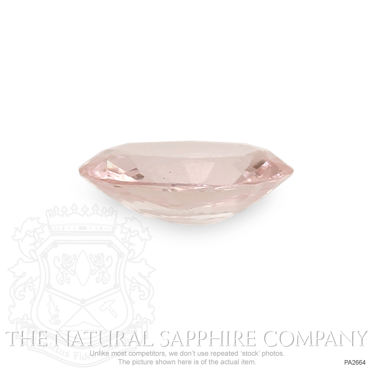 Natural Untreated Padparadscha Sapphire PA2664 Image 2