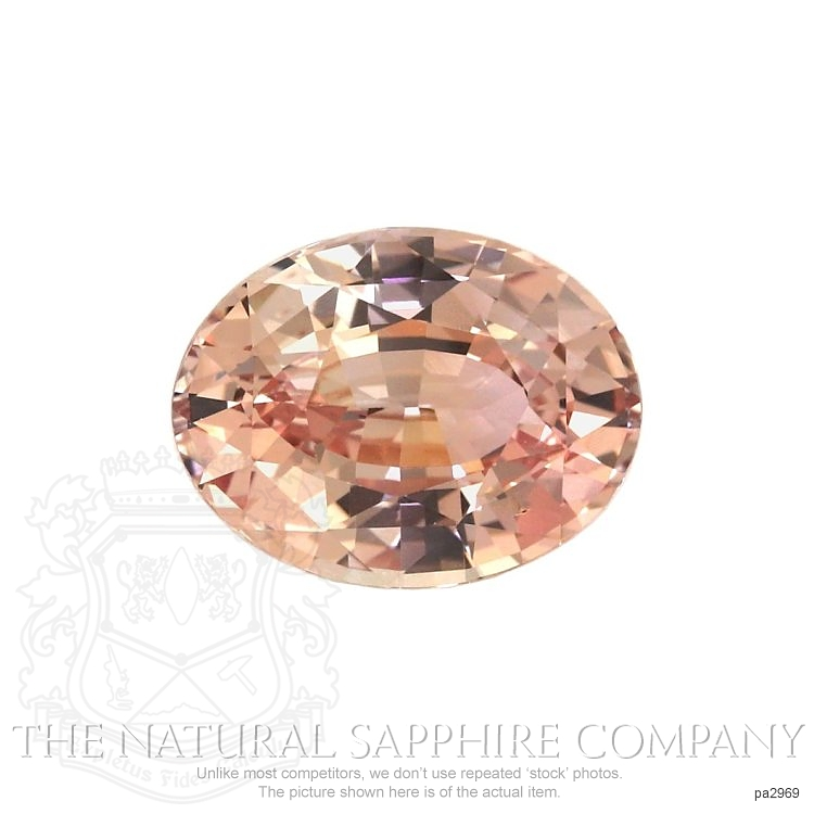 Natural Untreated Padparadscha Sapphire PA2969 Image