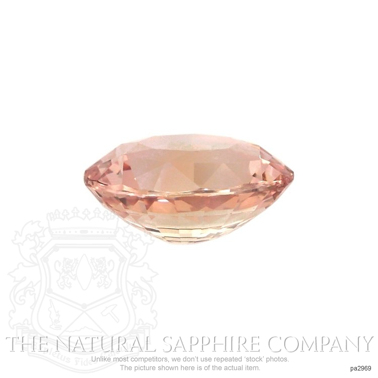Natural Untreated Padparadscha Sapphire PA2969 Image 2