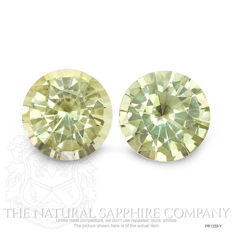2.62ctw Natural Untreated Yellow Sapphires PR1259-Y Image