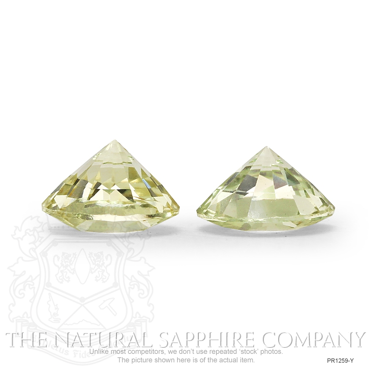 2.62ctw Natural Untreated Yellow Sapphires PR1259-Y Image 3