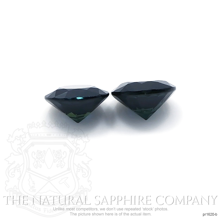 2.42ct Natural Untreated Blue Sapphire Pair PR1620-B Image 2