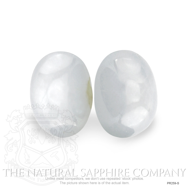 Natural Untreated Star Sapphire pair PR259-S Image 2