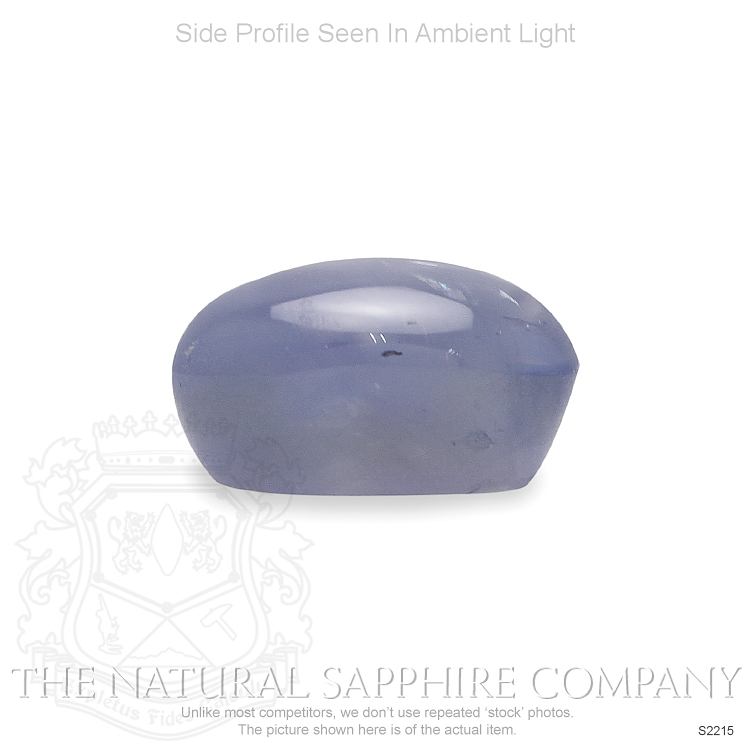 Natural Untreated Blue Star Sapphire S2215 Image 3