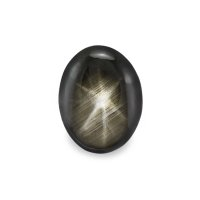 2.12ct Thailand Oval Black Star Sapphire - S2346
