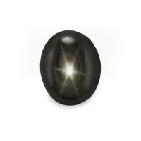 3.71ct Thailand Oval Black Star Sapphire - S2351
