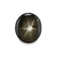 3.22ct Thailand Oval Black Star Sapphire - S2372