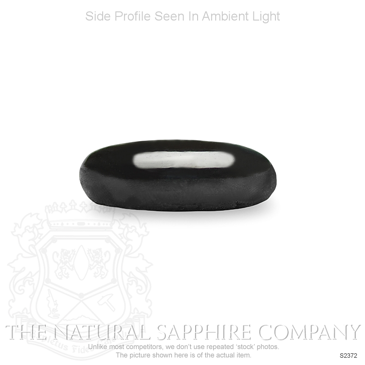 Natural Untreated Black Star Sapphire S2372 Image 3