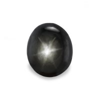 3.81ct Thailand Oval Black Star Sapphire - S2378