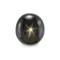 3.52ct Thailand Oval Black Star Sapphire - S2379