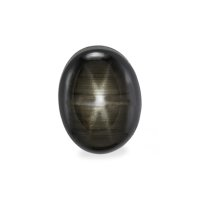 4.05ct Thailand Oval Black Star Sapphire - S2390