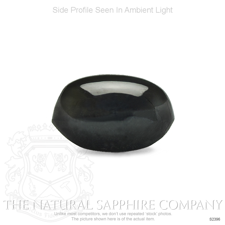 Natural Untreated Black Star Sapphire S2396 Image 3