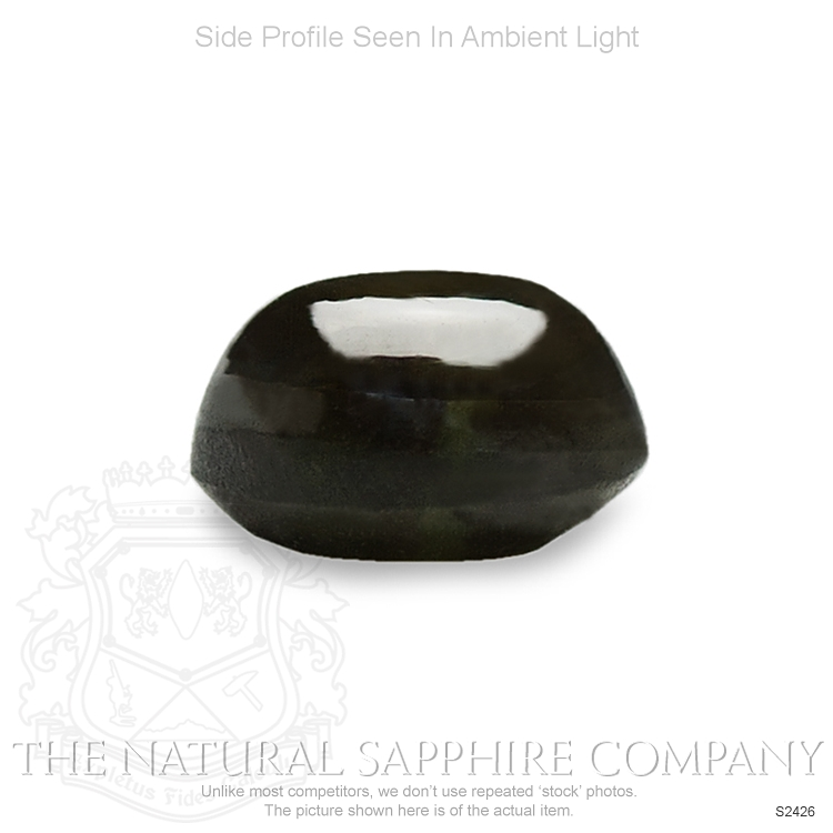 Natural Untreated Black Star Sapphire S2426 Image 3