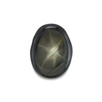 2.05ct Thailand Oval Black Star Sapphire - S2432
