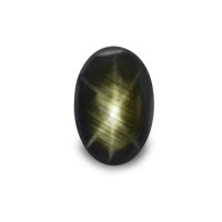 4.44ct Thailand Oval Black Star Sapphire - S2471