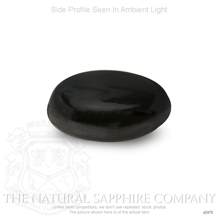 Natural Untreated Black Star Sapphire S2475 Image 3