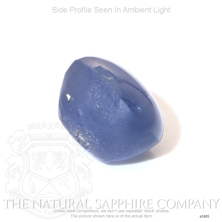 Natural Untreated Blue Star Sapphire S2485 Image 3