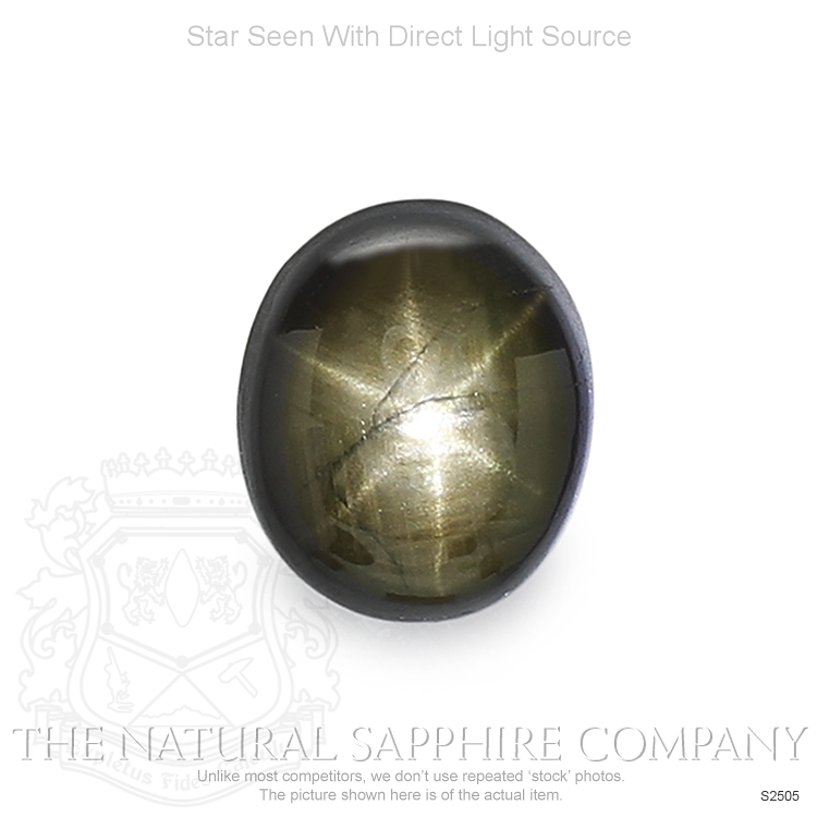Natural Untreated Star Sapphire S2505 Image