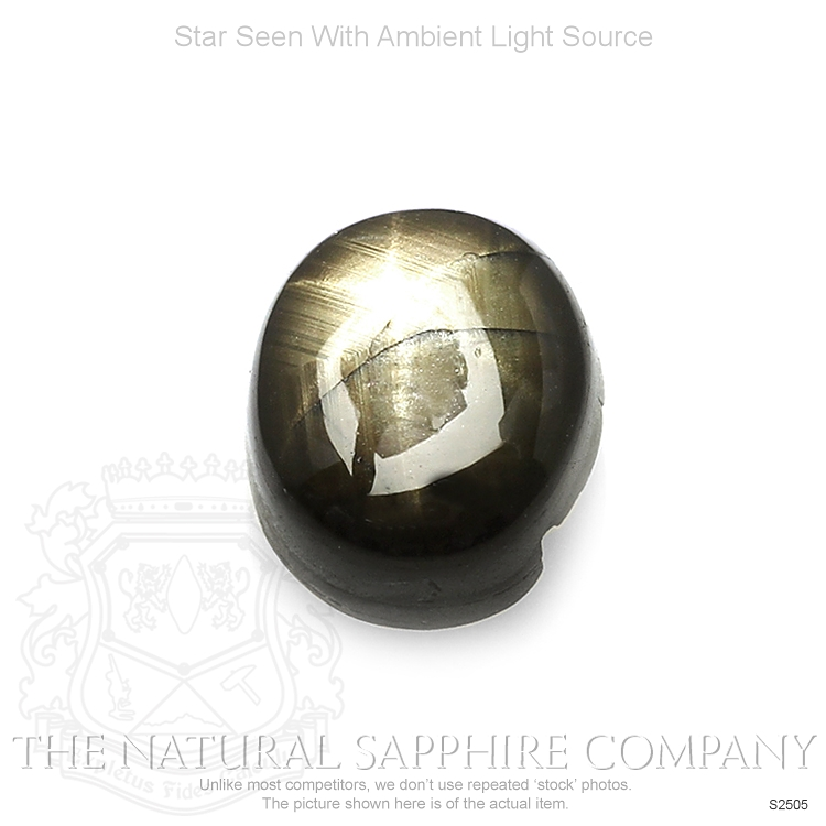Natural Untreated Star Sapphire S2505 Image 2
