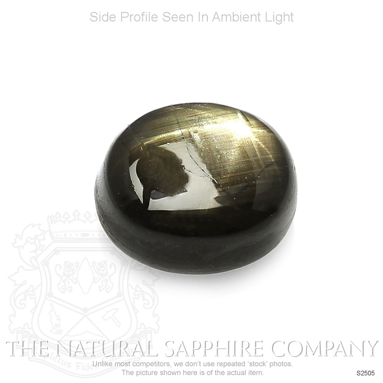 Natural Untreated Star Sapphire S2505 Image 3