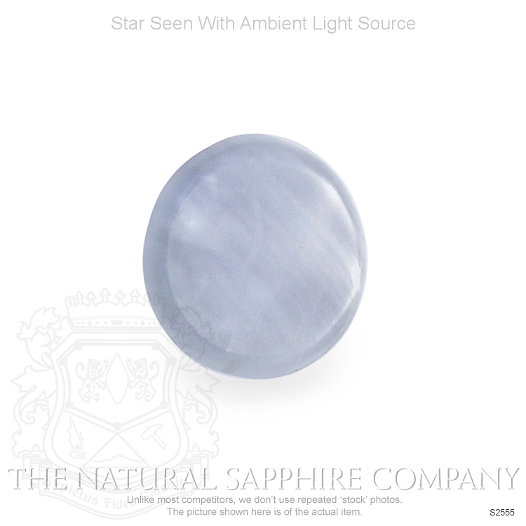 Natural Untreated Star Sapphire S2555 Image 2